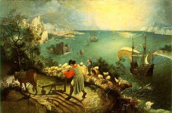 Brueghel, Pieter (Elder)--Fall of Icarus (1555).jpg